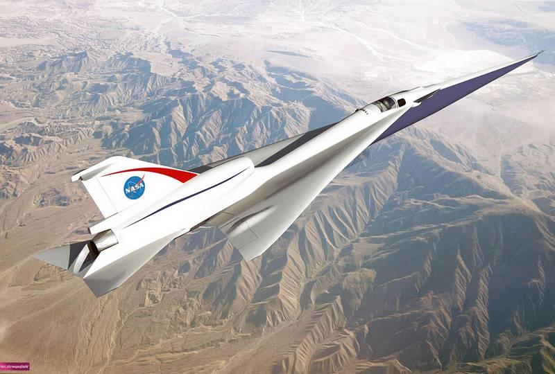 США возобновят создание сверхзвукового самолета