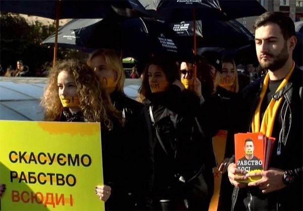 МВД Украины признаёт наличие рынка торговли людьми