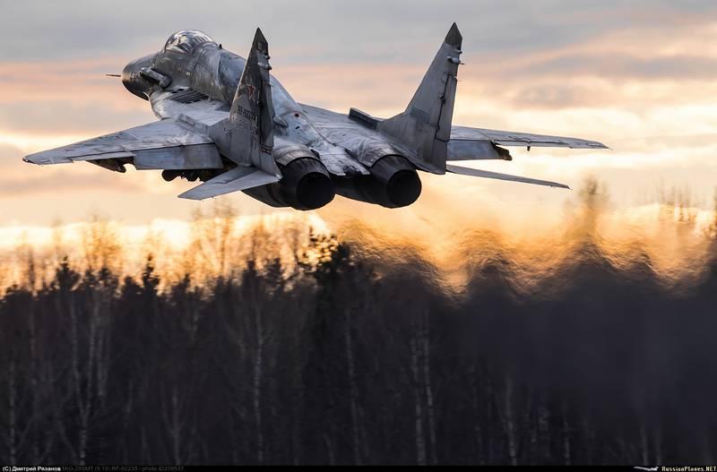 Украину предостерегли от попыток переделать истребитель Миг-29 в штурмовик