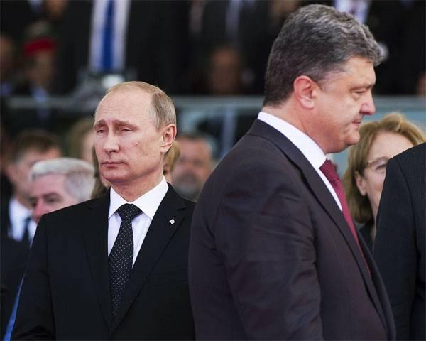 Путин и Порошенко провели телефонные переговоры