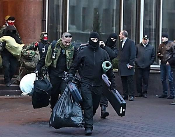 Georgische Schützen berichteten, von wem sie ihre Waffen in Kiew bei 2014 bezogen hatten