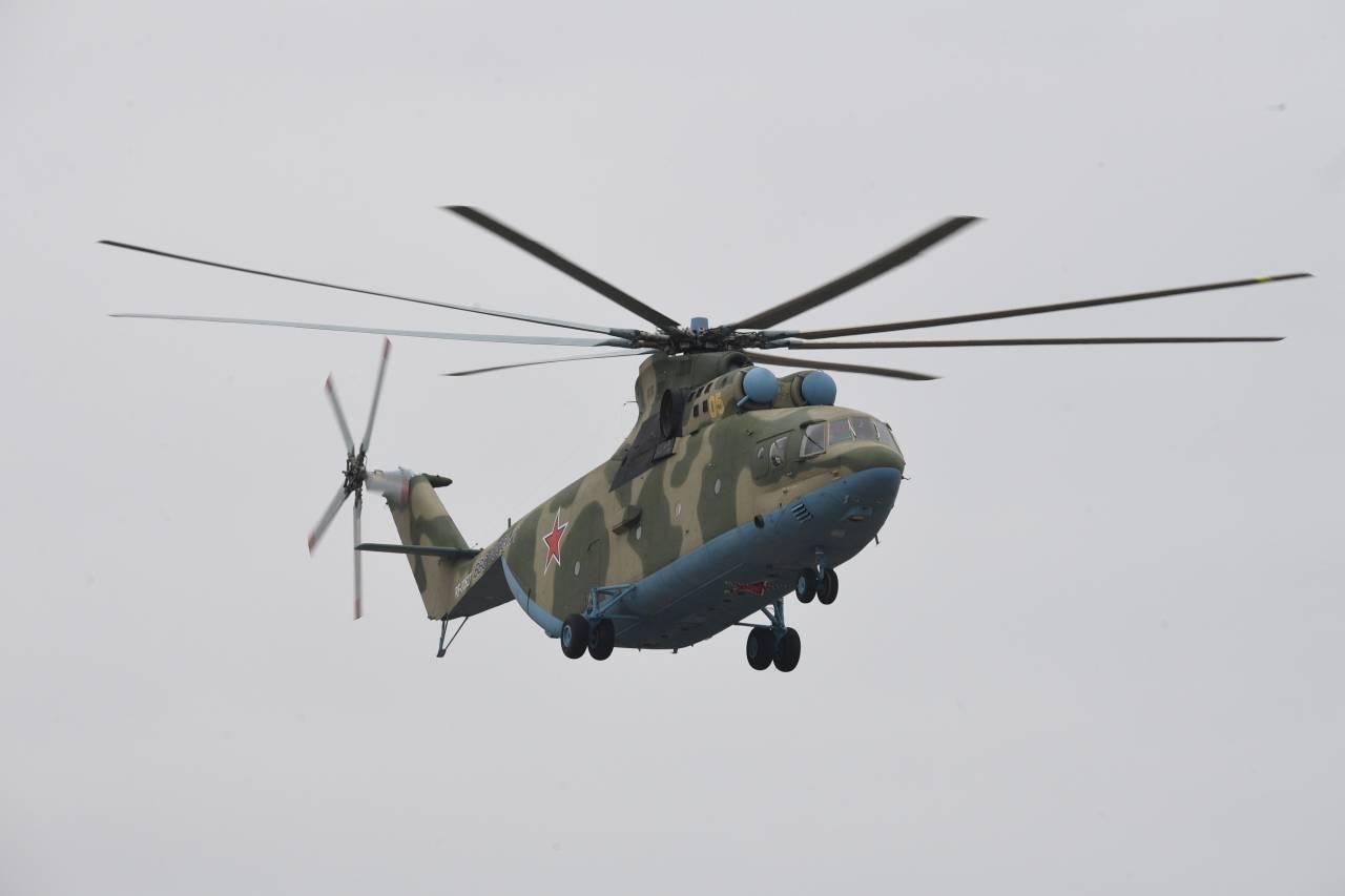 Всепогодный тяжёлый вертолёт Ми-26Т2В пойдёт всерию в 2019г.