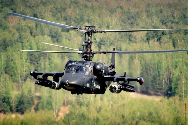 """""""Вертолеты России"""" планируют выпустить полсотни Ка-52 за два года"""