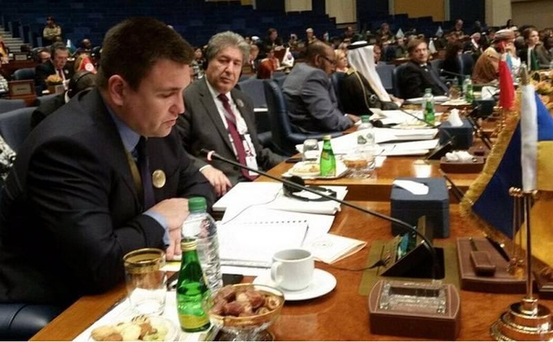 Klimkin sprach über den wichtigen Beitrag der Ukraine zur Bekämpfung des IS *