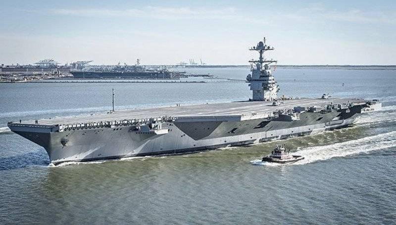 Новый суперавианосец ВМС США не справляется с простейшими задачами