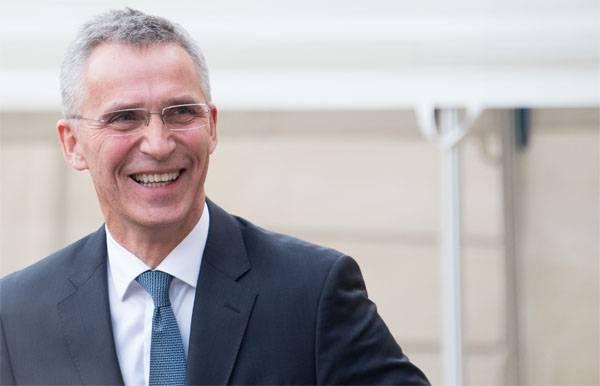 Stoltenberg sagte, wenn die Ukraine auf die NATO-Mitgliedschaft wartet