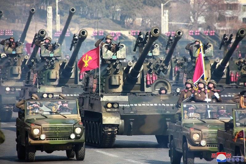 Пхеньян продемонстрировал новую пушечно-гранатометно-ракетную установку