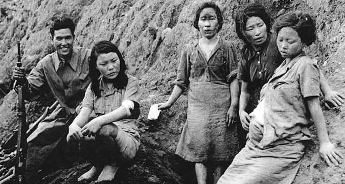 Женщинах которых военное время заставляли удовлетворять сексуальные потребности солдат имперской