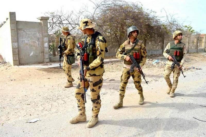 Le forze speciali egiziane hanno scelto il russo AK-103