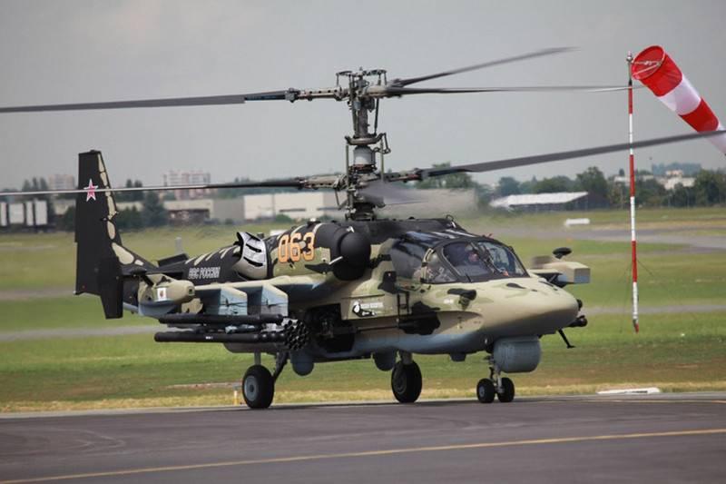 Kampfhubschrauber Ka-52M Waffen und Navigationssysteme erhalten ein Upgrade