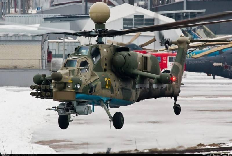 「ロシアのヘリコプター」が状態テストについて報告しましたMi-28НМ