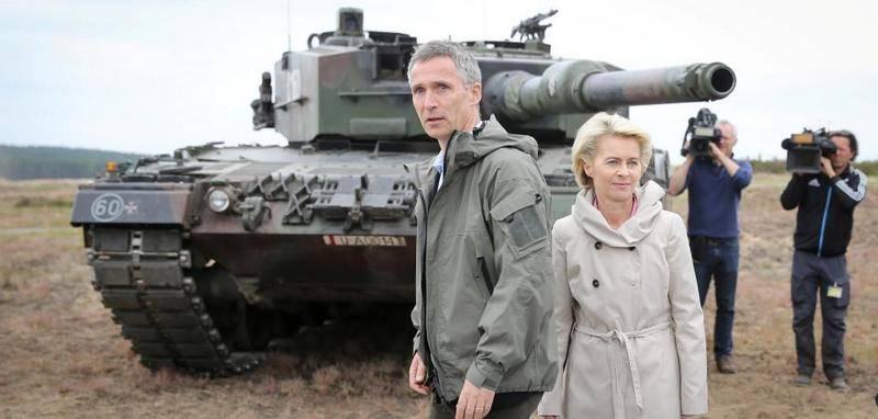 Welt: Германии не хватает танков для участия в операциях НАТО
