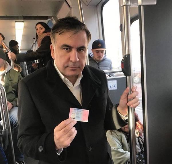 ВПольшу подшофе: винтернете показали чек Саакашвили изресторана
