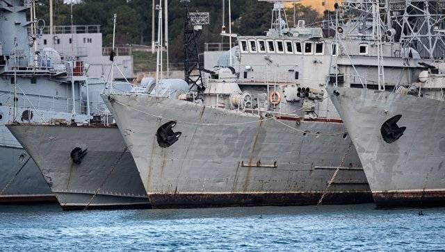 주 Duma에서 키예프가 크림에있는 나머지 함대를 수리해야한다는 요구에 대해 논평했다.
