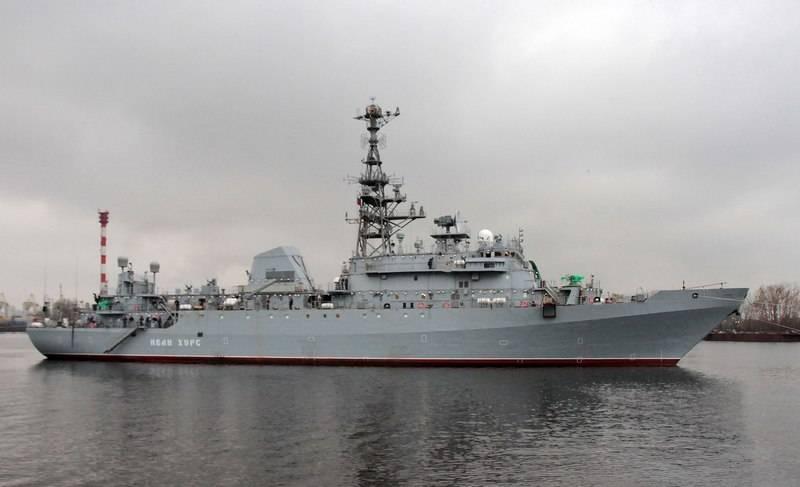 Los finlandeses estaban alarmados por las pruebas del buque de reconocimiento Ivan Hurs.
