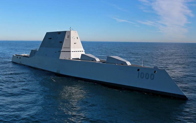 """Пентагон решил перевооружить новейшие эсминцы-""""невидимки"""""""