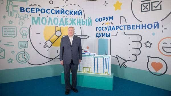 Zhirinovsky a exhorté la CEC à annuler l'enregistrement de Grudinin