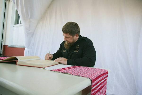 Ramzan Kadyrov convidou Vladimir Putin para governar o país por toda a vida
