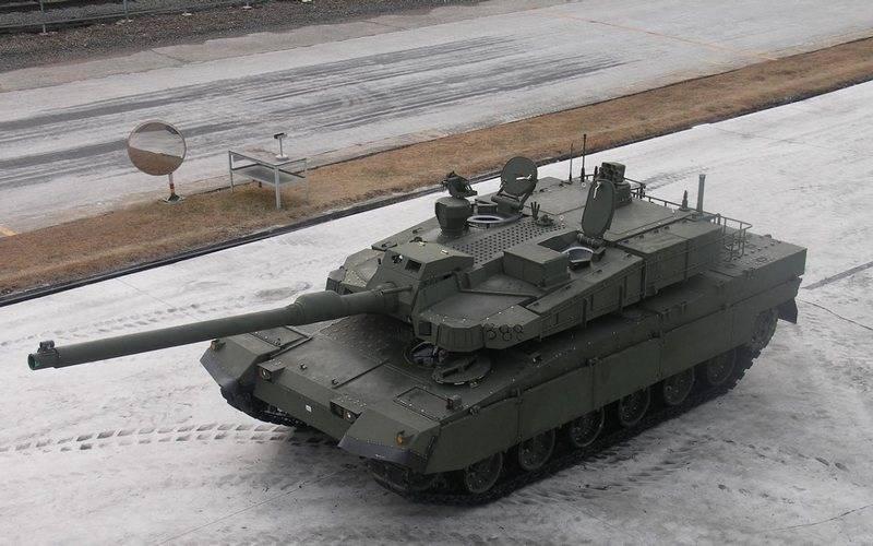 """Die zweite Partie des südkoreanischen MBT """"Black Panther"""" wird mit einem deutschen Getriebe ausgestattet"""