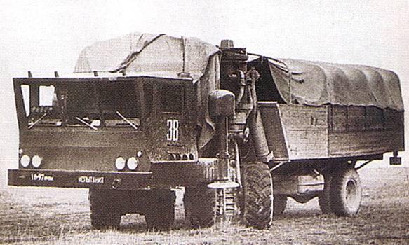 Опытный вездеход-транспортер ЗИЛ-135Ш
