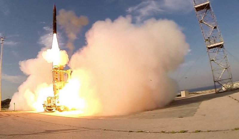 Израиль и США провели испытания системы ПРО для перехвата ракет в космосе