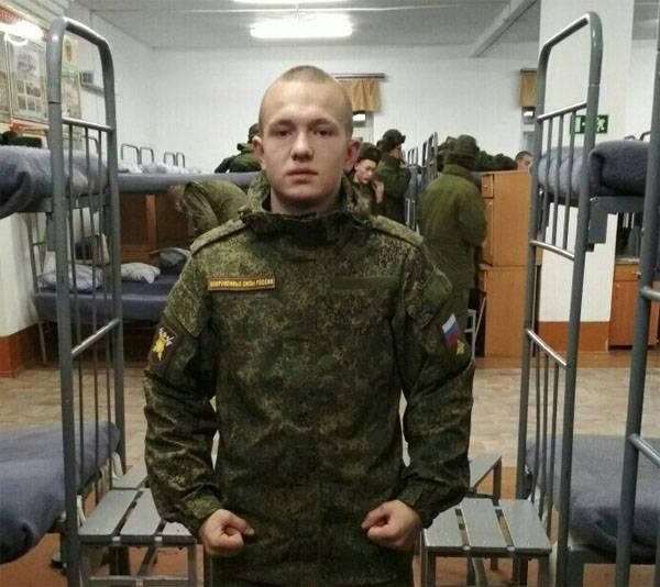 Un soldat est mort en se blessant dans l'unité militaire de la région de l'Amour