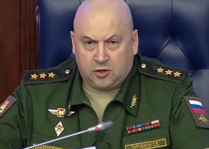 Un grupo de tropas en Siria puede ser nuevamente liderado por el General Surovikin.