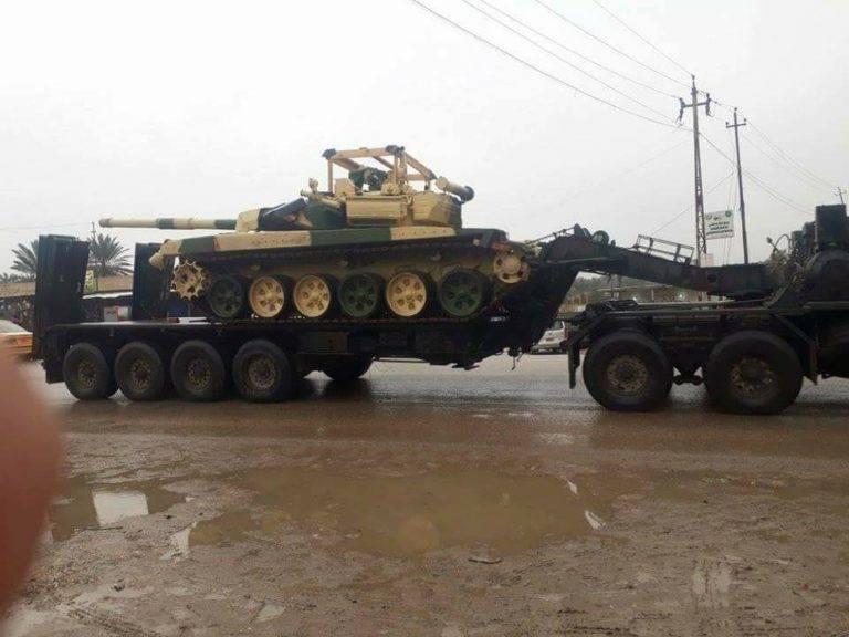 In Bagdad bestätigten sie den Erhalt von T-90С-Panzern im Rahmen eines Vertrags mit der Russischen Föderation