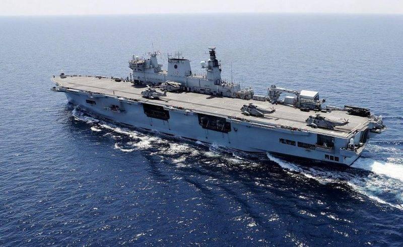 Der britische Hubschrauberflugzeugträger HMS Ocean wurde Brasilianer