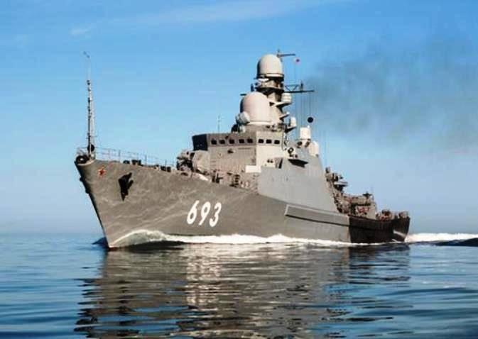 Ракетный корабль «Дагестан» выполнил стрельбы в Каспийском море