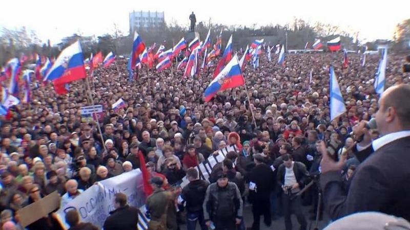 На Украине предложили сделать 26 февраля «Днём сопротивления Крыма российской оккупации»