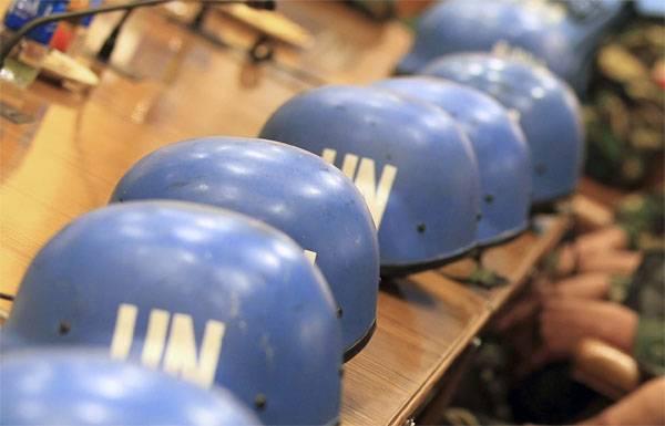 ¿Para llegar al Donbass y hacerse daño con un casco azul?