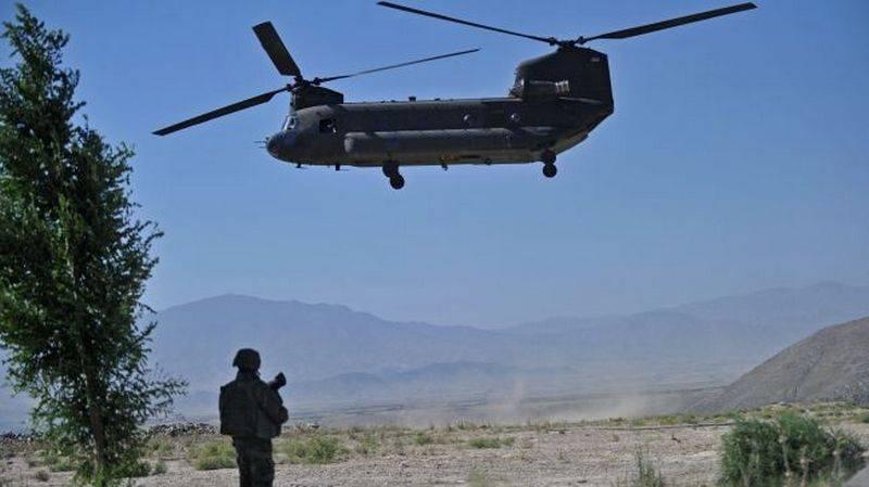 Lawrow: Russland wartet darauf, dass die USA über nicht identifizierte Hubschrauber in Afghanistan Auskunft geben