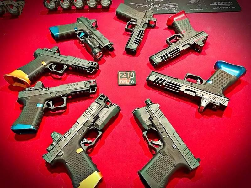 """Aux États-Unis, a créé le pistolet """"le plus modulaire"""""""