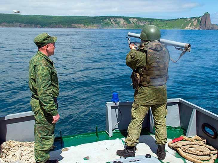 En la Federación Rusa crearon nuevos lanzagranadas para derrotar a saboteadores bajo el agua.