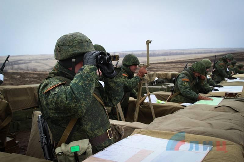 Marochko: NM der LNR ist bereit für aggressive Aktionen der Ukraine