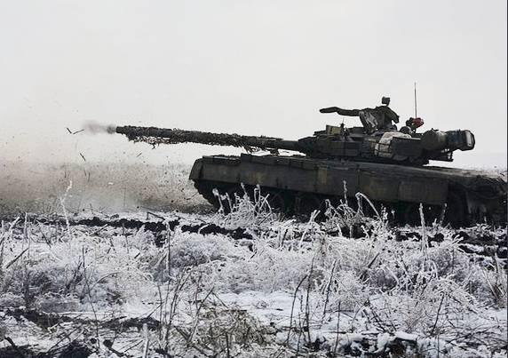 यूक्रेनी टैंकों पर थर्मल इमेजिंग जगहें स्थापित की जाने लगीं