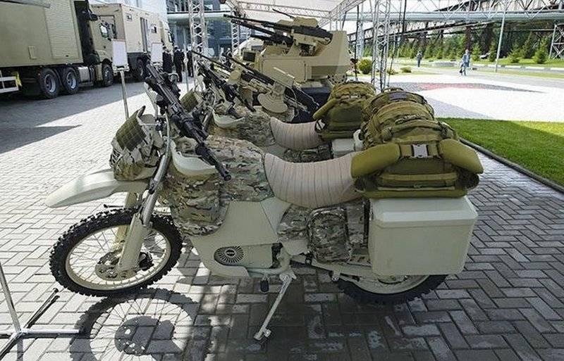 Ростех: Первую партию электромотоциклов передадим МО весной