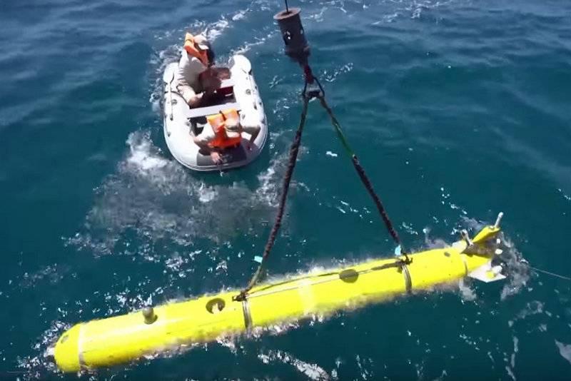 """俄罗斯水下机器人""""Galtel""""在叙利亚成功完成了一次战斗任务"""