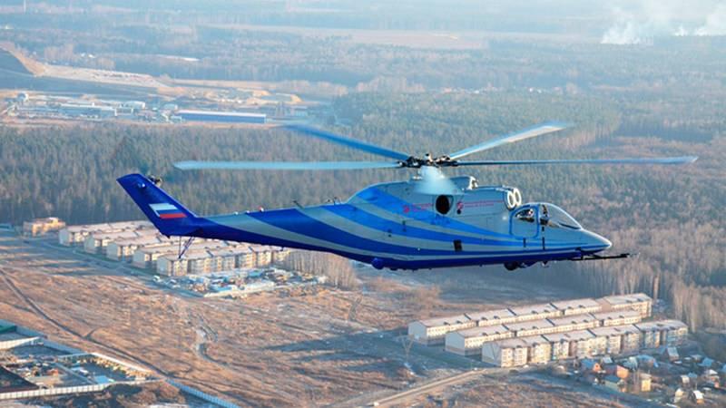 Un hélicoptère russe à grande vitesse effectuera son premier vol en 2019