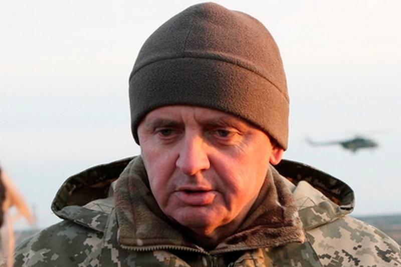 Il capo di stato maggiore delle forze armate ucraine ha annunciato la fine dell'ATO