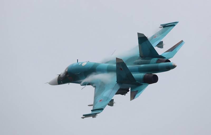 Первая эскадрилья Су-34 сформирована на Южном Урале