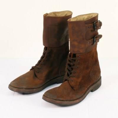 25ee5a1bce2f Trench Boot (траншейные ботинки) времен Первой мировой войны на ногах солдат