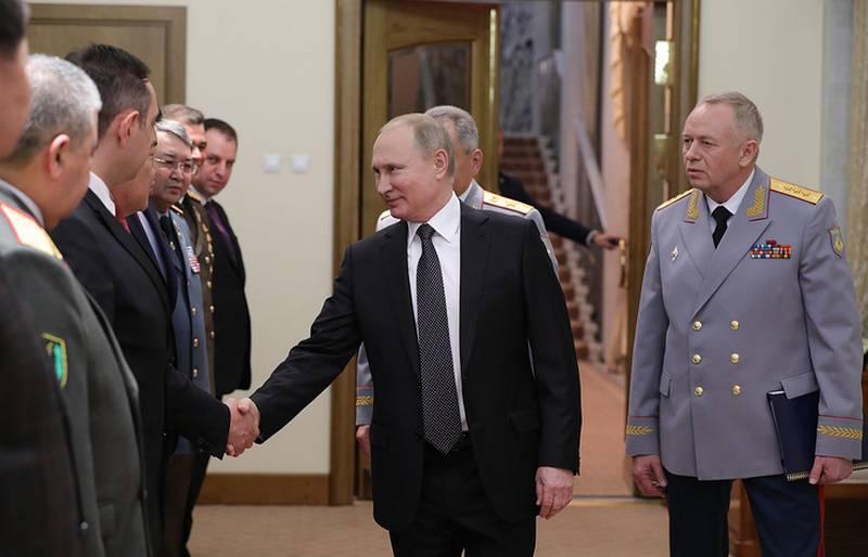 """普京感谢""""我们所有的战士""""参加叙利亚战役"""