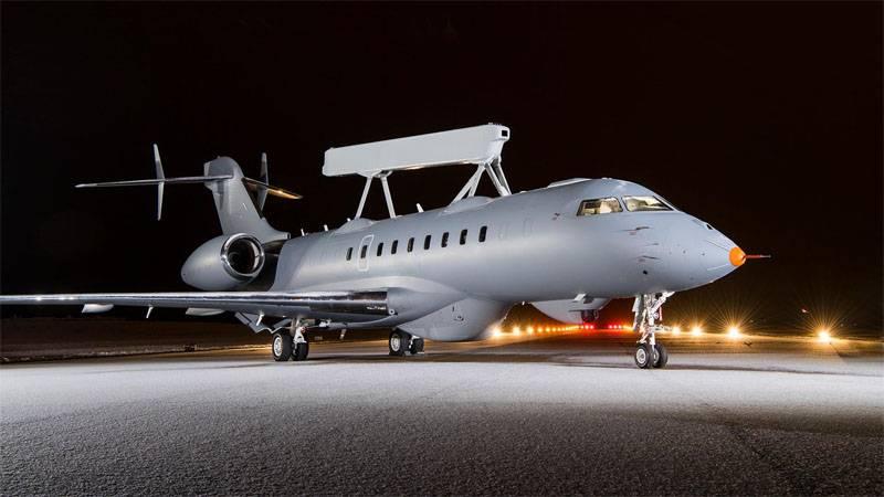 SAAB präsentierte ein integriertes Beobachtungsflugzeug GlobalEye für die VAE