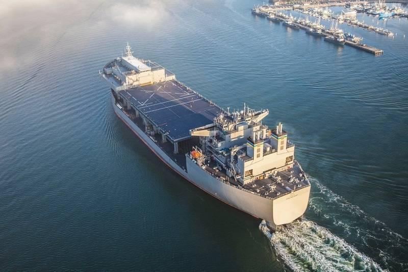 La Marina de los EE. UU. Recibe la segunda base de buques expedicionarios