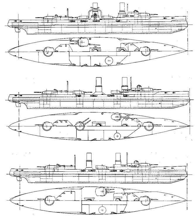 """Erros da construção naval alemã. Grande cruzador """"Blucher"""""""