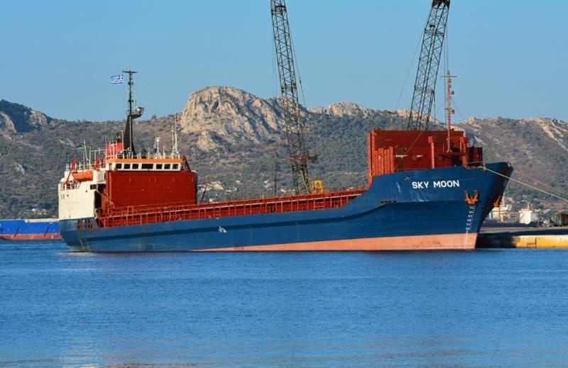 被基辅没收的坦桑尼亚船Sky Moon将给乌克兰海军