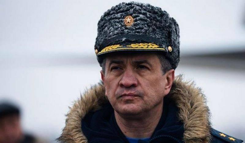 Командующий Дальней авиацией ВКС РФ получил звание заслуженного военного летчика