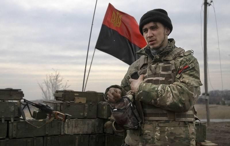 """NM LNR: Des combattants du """"secteur droit"""" sont arrivés dans la zone du village de Lougansk *"""